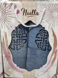 Чоловічий подарунковий набір рушників Noella колір синій