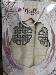 Чоловічий подарунковий набір рушників Noella бежевий.