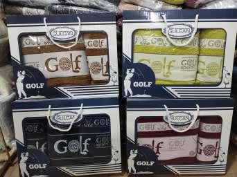 Чоловічий набір махрових рушників Gulcan Golf
